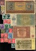 Bild von NAZI GERMANY and CROATIA BANKNOTE, COIN AND STAMP SET # 8