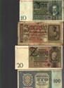 Picture of NAZI GERMANY and CROATIA BANKNOTE, COIN AND STAMP SET # 83