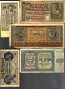 Bild von NAZI GERMANY and CROATIA BANKNOTE, COIN AND STAMP SET # 38
