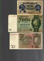 Picture of NAZI GERMANY and CROATIA BANKNOTE, COIN AND STAMP SET * N *