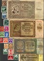 Bild von NAZI GERMANY, CROATIA AND YUGOSLAVIA BANKNOTE, COIN AND STAMP SET # 138