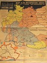 Bild von 1946 MAP OF THE OCCUPIED ZONES OF GERMANY