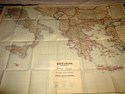 Picture of WWII GERMAN MAP OF SOUTHERN EUROPE  (1944)